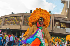 Festival of the Virgin of Guadalupe in Mexico City Royalty Free Stock Photos