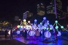 Festival vivo, Sydney, Australia imagenes de archivo