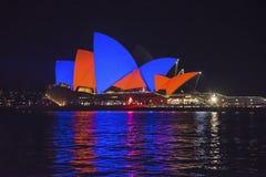 Festival vivo, Sydney, Australia fotografie stock libere da diritti