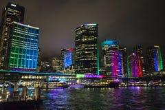 Festival vivo, Sydney, Australia fotografia stock