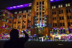 Festival vivo, Sydney, Australia fotografia stock libera da diritti