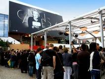 Festival von Cannes, Palais du festival, Frankreich lizenzfreie stockfotografie