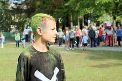 Festival von Farben lizenzfreie stockfotografie