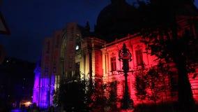Festival von Lichtern stock video