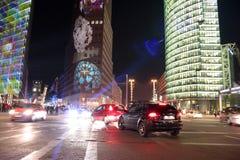 Festival von Lichtern Berlin Stockbild