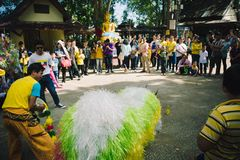 Festival von Nordländern von Thailand Lizenzfreies Stockfoto