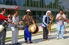 Festival von Ostrava-Straßen 2014 Stockbild