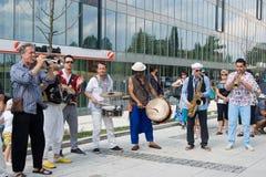 Festival von Ostrava-Straßen 2014 Lizenzfreie Stockfotos