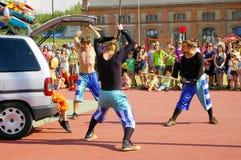 Festival von Ostrava-Straßen lizenzfreies stockfoto