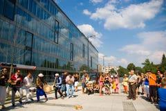 Festival von Ostrava-Straßen 2014 Stockfotografie