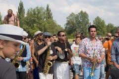 Festival von Ostrava-Straßen Lizenzfreies Stockbild