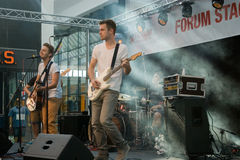 Festival von Ostrava-Straßen Lizenzfreie Stockfotografie