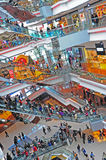 Festival walk shopping mall, hong kong Stock Photos