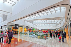 Festival walk shopping mall, hong kong Stock Photo