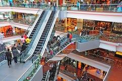 Festival walk shopping mall, hong kong Stock Images