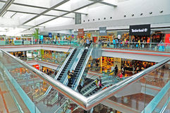 Festival walk shopping mall, hong kong Royalty Free Stock Image