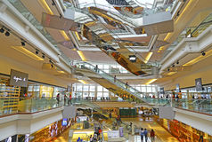 Festival walk shopping mall, hong kong Royalty Free Stock Images