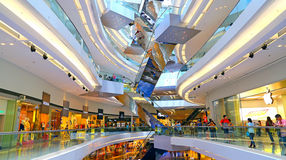 Festival walk shopping mall, hong kong Stock Images