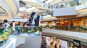 Festival walk shopping mall, hong kong Royalty Free Stock Photos