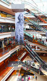 Festival walk shopping mall, hong kong Stock Photography