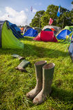 Festival Wellies Immagine Stock