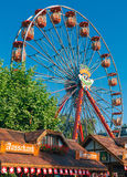 Festival wheel Royalty Free Stock Image