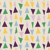 Japanese Random Triangle Pattern stock image