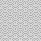 Japanese Silver Wave Pattern royalty free stock photos
