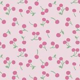 Japanese Cherry Pattern royalty free stock photo