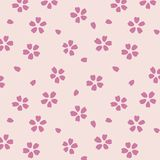 Japanese Cherry Blossom Pattern stock photos