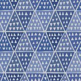 Japanese Indigo Triangle Pattern royalty free stock photo