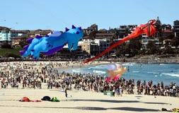 Festival of the Winds, Bondi Beach Sydney Royalty Free Stock Photo