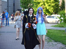 The festival of youth subcultures and cosplay Stock Photo