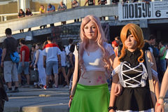 The festival of youth subcultures and cosplay Stock Photography