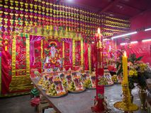 Festival, zum des Stadt-Säulen-Schreins anzubeten stockbild