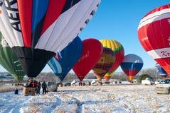 Festivalappelen in de Sneeuw 2015 Stock Foto's