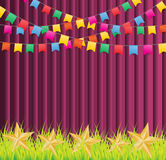 Festivalbakgrund Royaltyfria Bilder