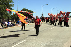 festivalen för ettårig växt 12 som juni ståtar portland, steg Arkivfoto