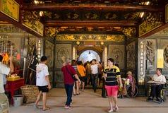 Festivalen för nio kejsaregudar i Ampang Royaltyfri Bild