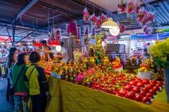 Festivalen för nio kejsaregudar i Ampang Arkivfoto