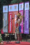 Festivalen firar världsdagturismen i Indonesien Royaltyfria Bilder