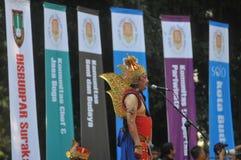 Festivalen firar världsdagturismen i Indonesien Royaltyfri Foto