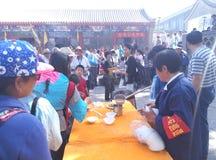 Festivaler för MiaoFeng bergfolk fotografering för bildbyråer