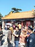 Festivaler för MiaoFeng bergfolk royaltyfri foto