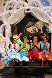 Festivales - el peregrinaje del EL Rocio Imágenes de archivo libres de regalías