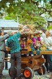 Festivales tradicionales en Kyoto, Japón foto de archivo