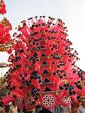 Festivalfarbe in Indien Lizenzfreie Stockfotos