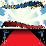 festivalfilm stock illustrationer