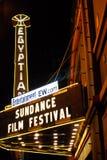 festivalfilmsundance Royaltyfri Fotografi