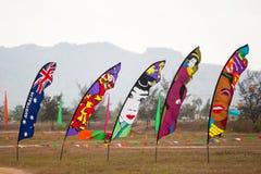 Festivalflagga Royaltyfria Foton